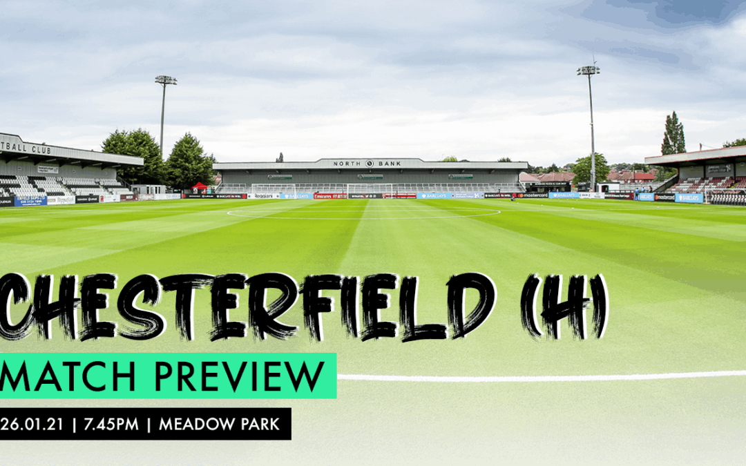 MATCH PREVIEW – CHESTERFIELD (H)