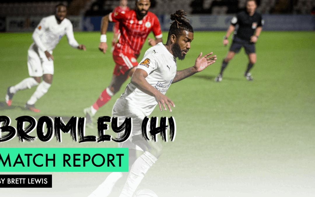 MATCH REPORT – BROMLEY (H)