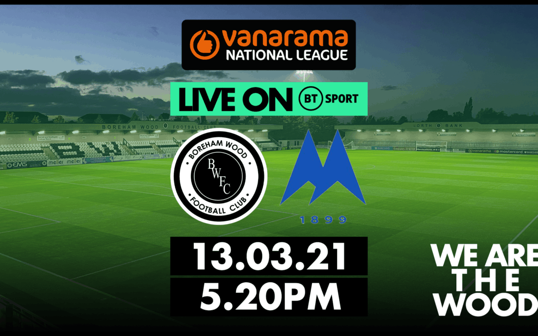 NATIONAL LEAGUE FIXTURE AGAINST TORQUAY UNITED SELECTED BY BT SPORT