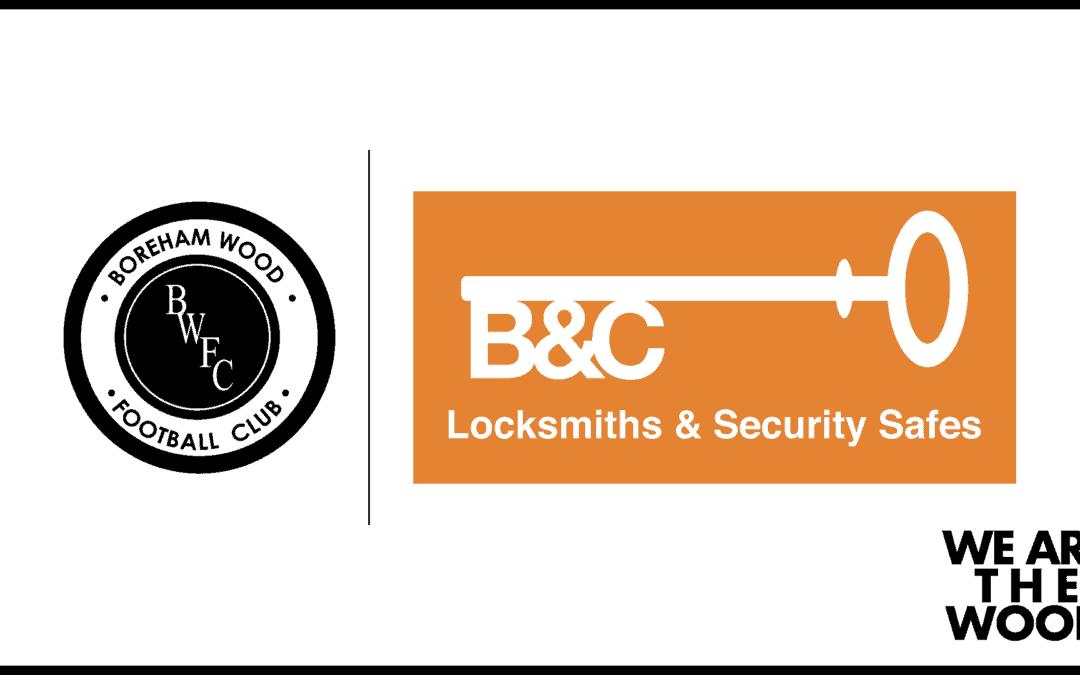 SOLIHULL MATCH SPONSOR – THANK YOU, B&C LOCKSMITHS & SECURITY SAFES!