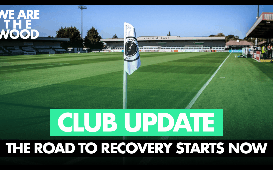 OUR CLUB AND OUR ACADEMY – ROAD TO RECOVERY BEGINS NOW