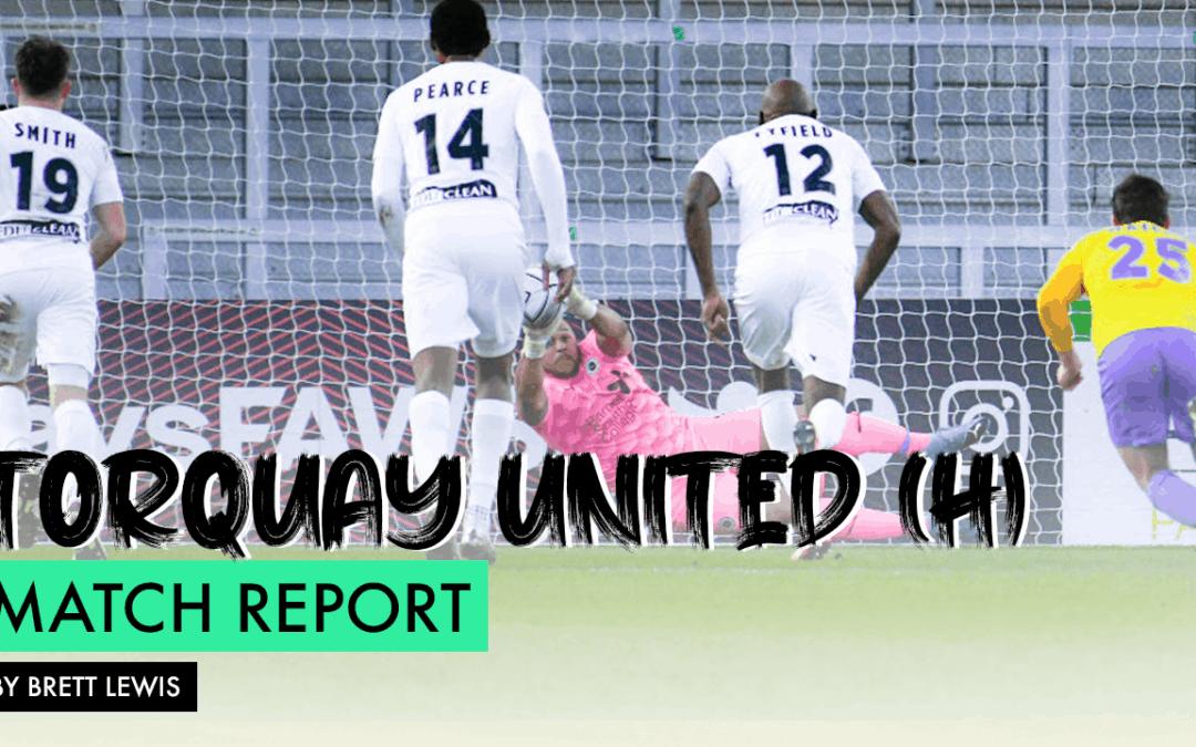 MATCH REPORT – TORQUAY UNITED (H)