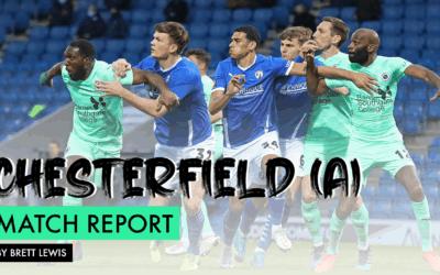 MATCH REPORT – CHESTERFIELD (A)