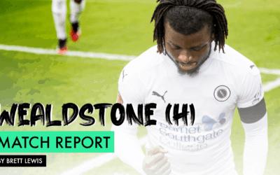 MATCH REPORT – WEALDSTONE (H)