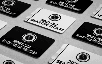 ALL SEASON TICKETS AND BLACK CARD MEMBERSHIPS TO BE SENT IN THE POST