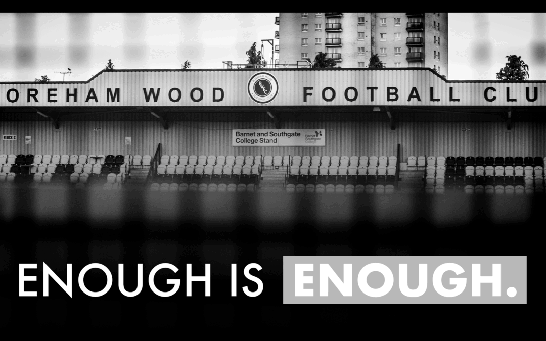 BOREHAM WOOD FC TO JOIN THIS WEEKEND'S SOCIAL MEDIA BOYCOTT