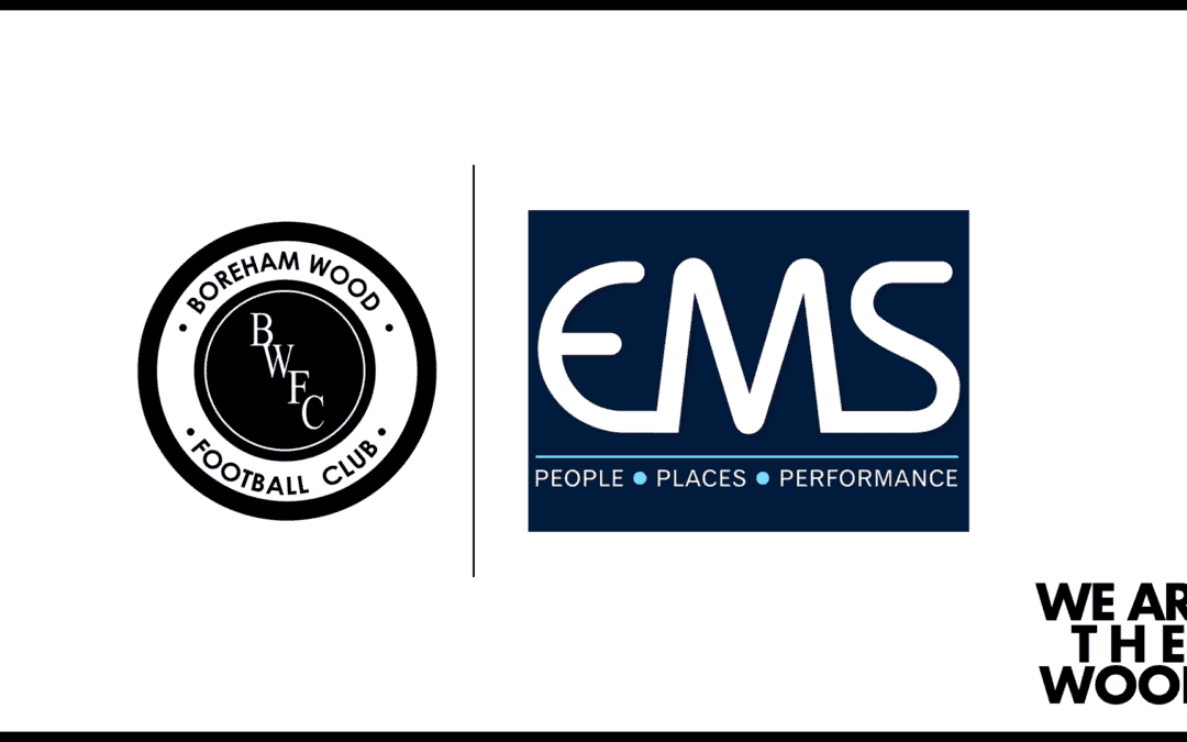 STOCKPORT COUNTY MATCH SPONSOR – THANK YOU, EMS!