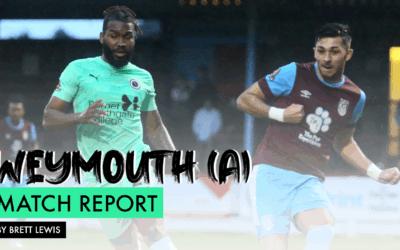 MATCH REPORT – WEYMOUTH (A)