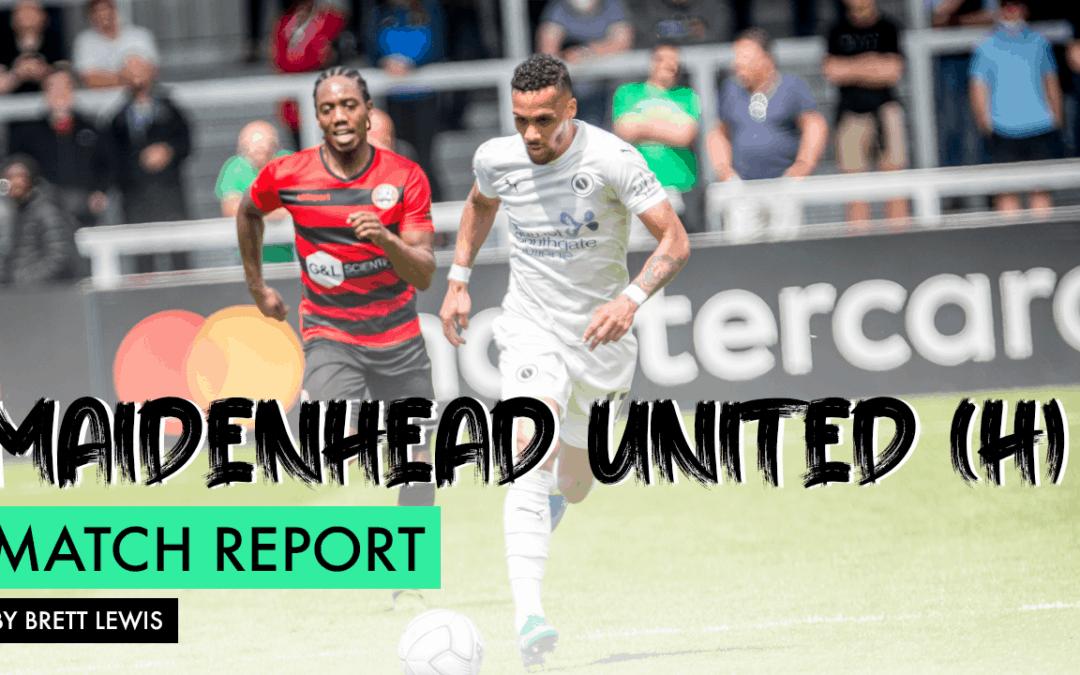 MATCH REPORT – MAIDENHEAD UNITED (H)