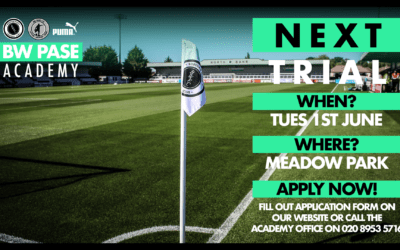 BW PASE ACADEMY ANNOUNCES NEXT TRIAL DATE
