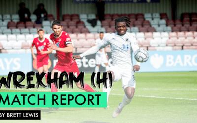 MATCH REPORT – WREXHAM (H)