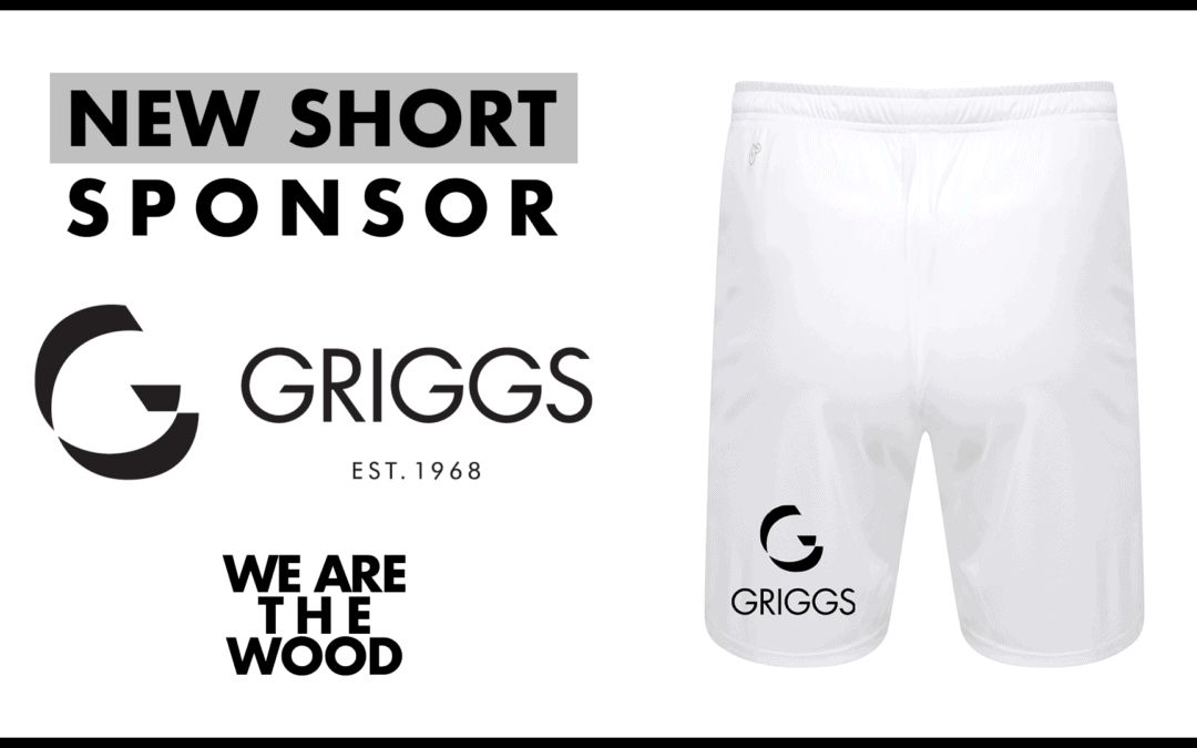 WOOD ANNOUNCE GRIGGS AS NEW SHORT SPONSOR