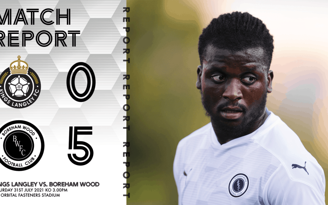 MATCH REPORT – KINGS LANGLEY (A)