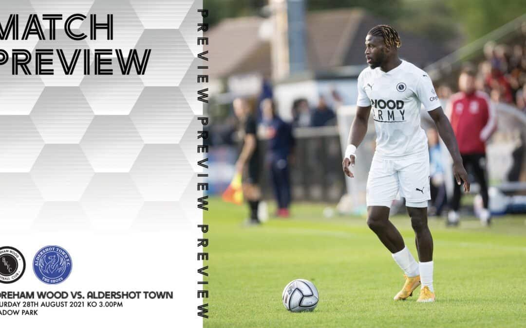 MATCH PREVIEW – ALDERSHOT TOWN (H)