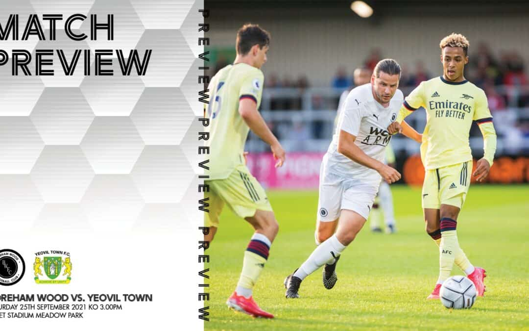 MATCH PREVIEW – YEOVIL TOWN (H)