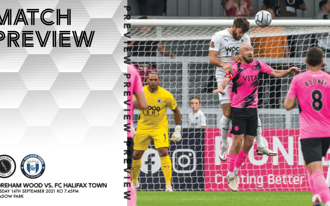 MATCH PREVIEW – FC HALIFAX TOWN (H)