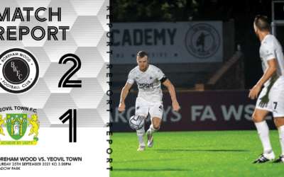 MATCH REPORT – YEOVIL TOWN (H)