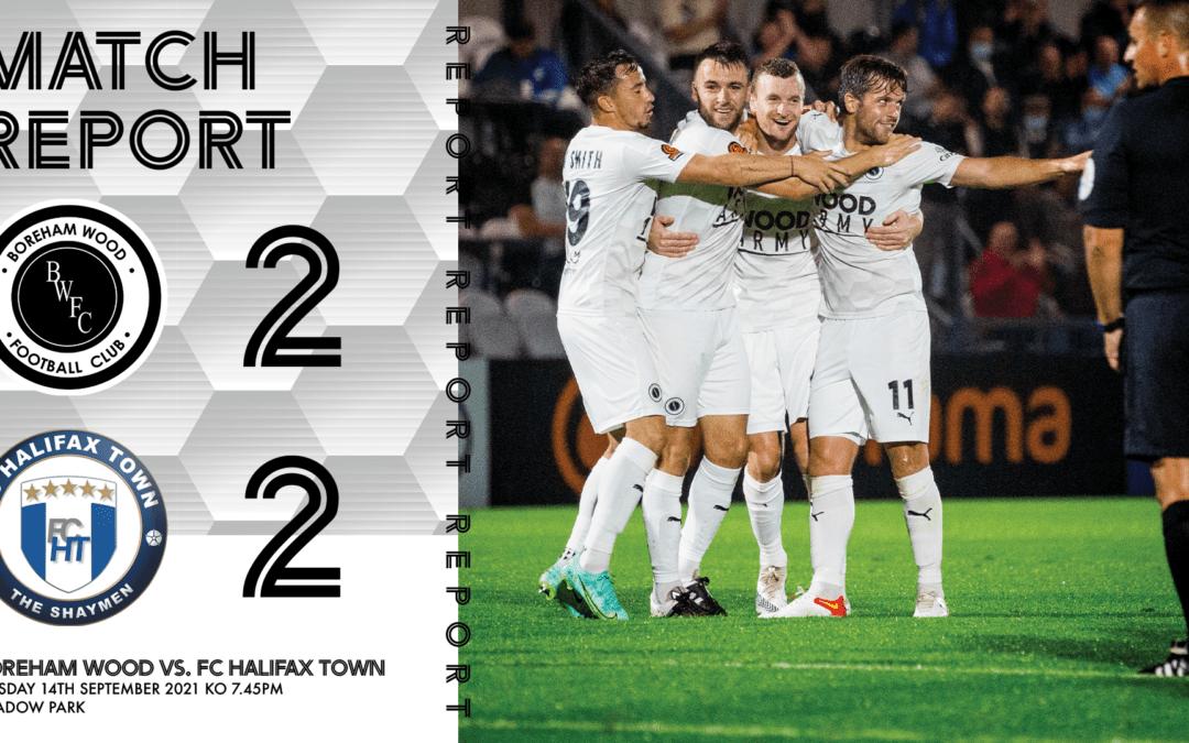 MATCH REPORT – FC HALIFAX TOWN (H)