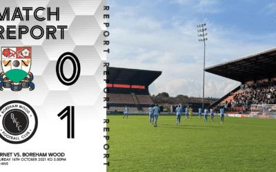 MATCH REPORT – BARNET (A)